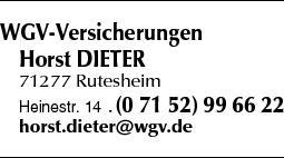 Anzeige WGV-Versicherungen