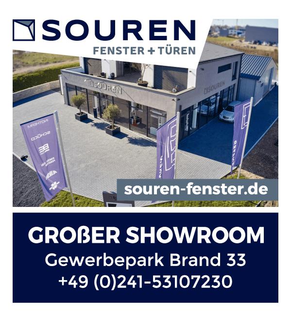 Anzeige Bauelemente Axel Souren Fenster + Türen, Jalousien, Sonnenschutz Bauelemente