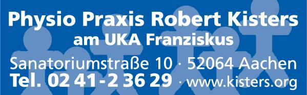 Anzeige Kisters Robert Physio Praxis am Franziskushospital