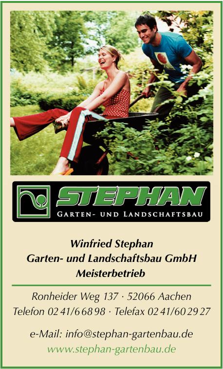 Stephan Winfried Garten- und Landschaftsbau in Aachen - Das Örtliche