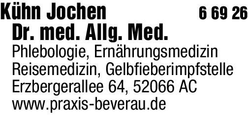 Anzeige Kühn J Dr. med.