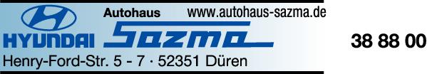 Anzeige Sazma Rudolf Autowerkstatt