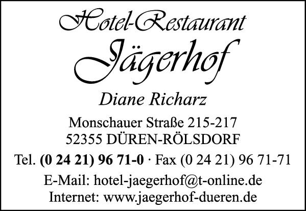 Anzeige Jägerhof