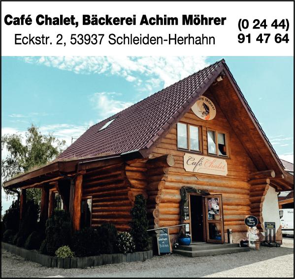 Anzeige Café Chalet Inh. Achim Möhrer Bäckerei