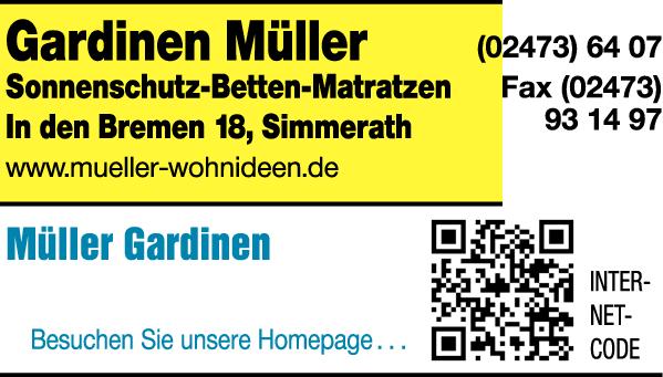 Gardinen Müller GmbH Gardinen Betten in Simmerath ⇒ in Das Örtliche