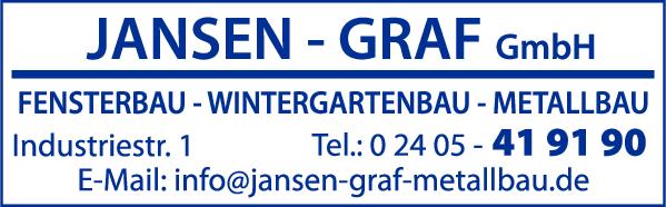 Anzeige Jansen-Graf GmbH Metallbau