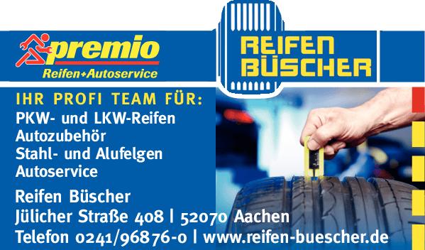 Anzeige Reifen Büscher OHG