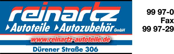 Anzeige Reinartz Autoteile Autozubehör GmbH