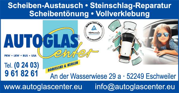 Anzeige Autoglas Center GmbH