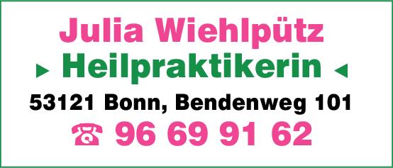 Anzeige Wiehlpütz Julia Heilpraktikerin