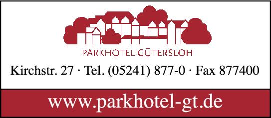 Anzeige Parkhotel Gütersloh