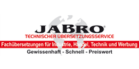Kundenlogo Jabro GmbH & Co. KG Technischer Übersetzungsservice