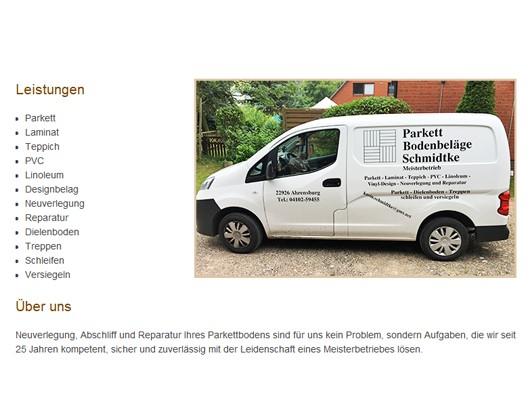 Parkett Ahrensburg schmidtke parkett und bodenbeläge in ahrensburg in das örtliche
