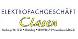 Kundenlogo von Elektrofachgeschäft Clasen e.K.