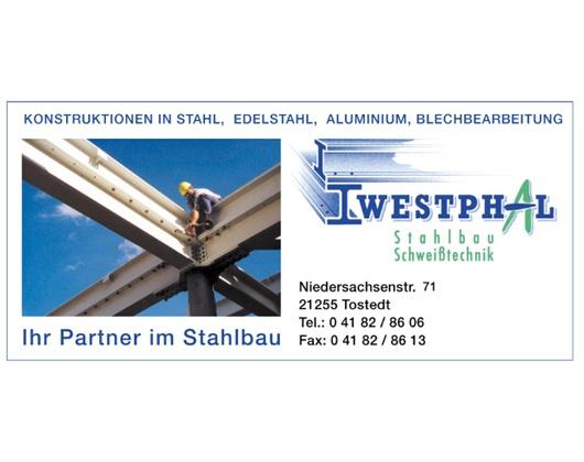 Kundenbild groß 1 Westphal Stahlbau Schweißtechnik GmbH