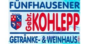 Kundenlogo von Fünfhauser Getränke- & Weinhaus Gebr. Kohlepp GmbH Getränkemarkt