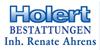 Kundenlogo von Holert Bestattungen Inh. Renate Ahrens
