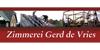 Kundenlogo von de Vries Gerd Zimmerei, Bedachungen,  Bauklempnerei