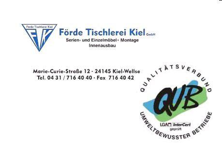 Kundenbild groß 1 Förde Tischlerei Kiel GmbH Tischlerei