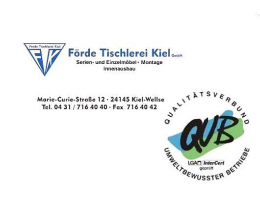 Kundenbild klein 1 Förde Tischlerei Kiel GmbH Tischlerei