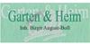 Kundenlogo von August-Boll B. Garten & Heim