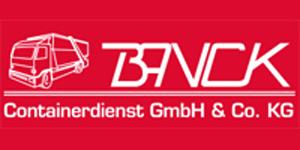 Kundenlogo von Banck Containerdienst GmbH & Co. KG
