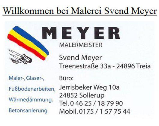 Kundenbild groß 1 Meyer Svend Malermeister