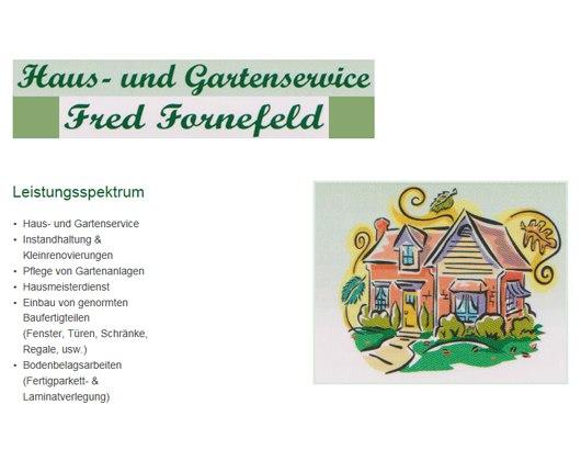 Kundenbild groß 1 Fornefeld Fred Haus- und Gartenservice