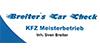 Kundenlogo von Breiter`s Car Check Sven Breiter