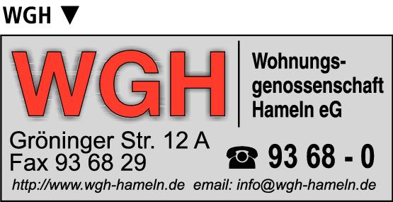 Anzeige Wohnungsgenossenschaft Hameln eG