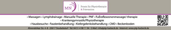 Anzeige MN Praxis für Physiotherapie, Neitzke Melanie