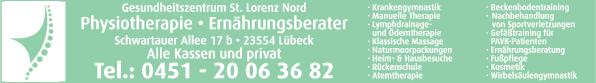 Anzeige Physiotherapie-Praxis Capli