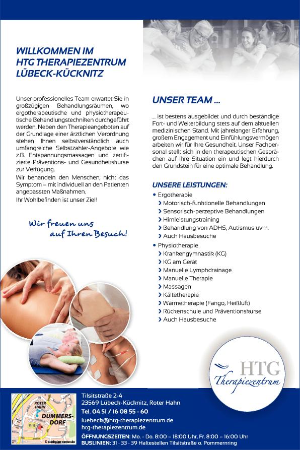 Anzeige HTG Therapiezentrum GmbH