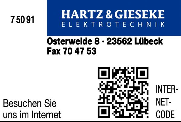 Anzeige Hartz & Gieseke Elektrotechnik GmbH