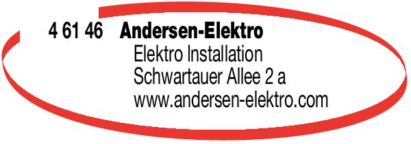 Anzeige Andersen Jörg Elektroinstallateur