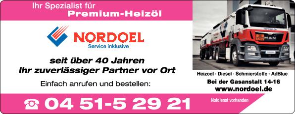 Anzeige NORDOEL Mineralölhandelsgesellschaft mbH Schmierstoffe