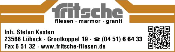 Anzeige Fritsche Fliesen - Marmor - Granit- Inh. Stefan Kasten