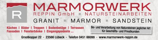 Anzeige Marmorwerk Reppin GmbH Naturstein