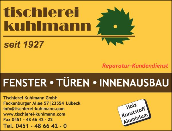 Anzeige Tischlerei Kuhlmann GmbH