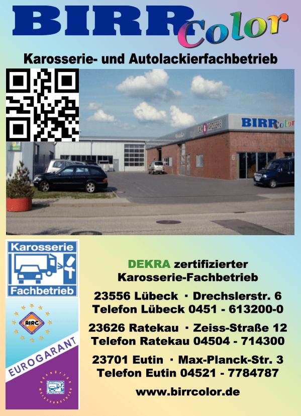Anzeige Birr Color GmbH Autolackierung
