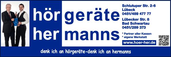Anzeige Hörgeräte Hermanns GmbH
