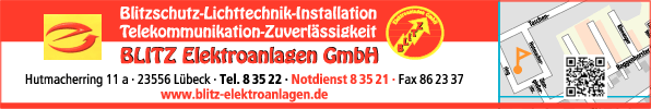 Anzeige Blitz Elektroanlagen GmbH