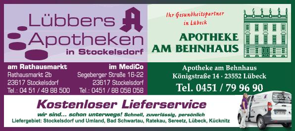 Anzeige Apotheke am Behnhaus