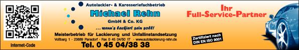 Anzeige Rehn Michael Autolackierfachbetrieb