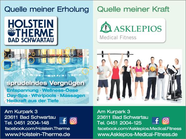 Anzeige Asklepios Medical Fitness
