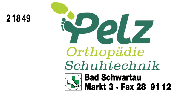 Anzeige Pelz Martin Orthopädische Schuhtechnik