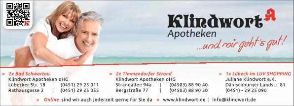 Anzeige Klindwort Apotheke -Bergstraße- Apotheke