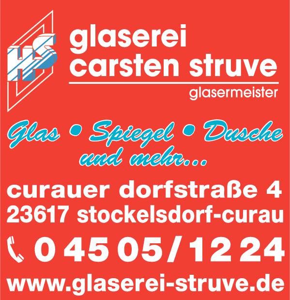 Anzeige Struve Holger Glasermeister