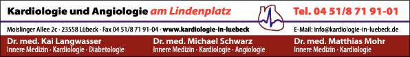 Anzeige Langwasser Kai , Schwarz Michael , Mohr Matthias Dres. med. Fachärzte für Innere Medizin-Kardiologie