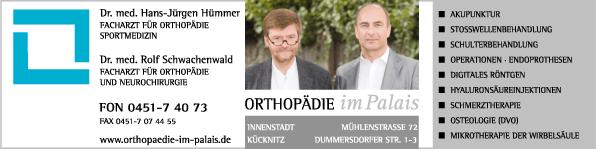 Anzeige Hümmer Hans-Jürgen Dr.med. Facharzt für Orthopädie